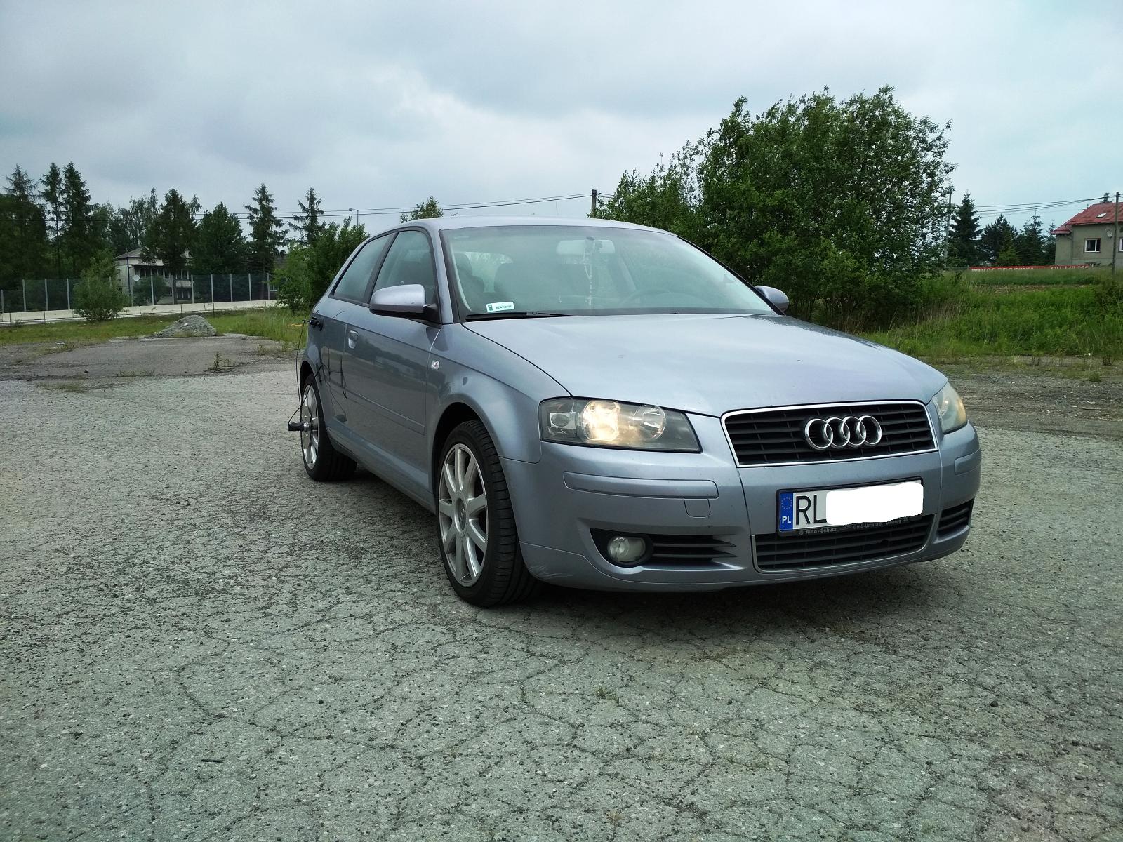 Audi A3 8P 1.9TDI 105KM >> 146KM 339Nm