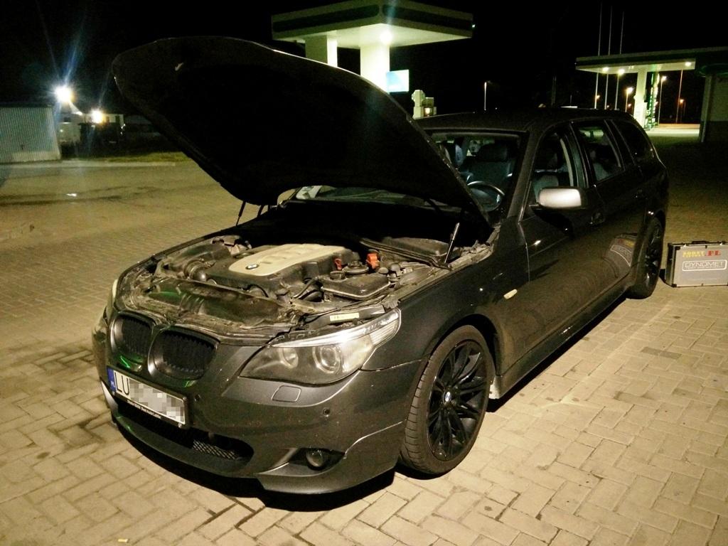 BMW E61 535D 272KM >> 336KM 664Nm