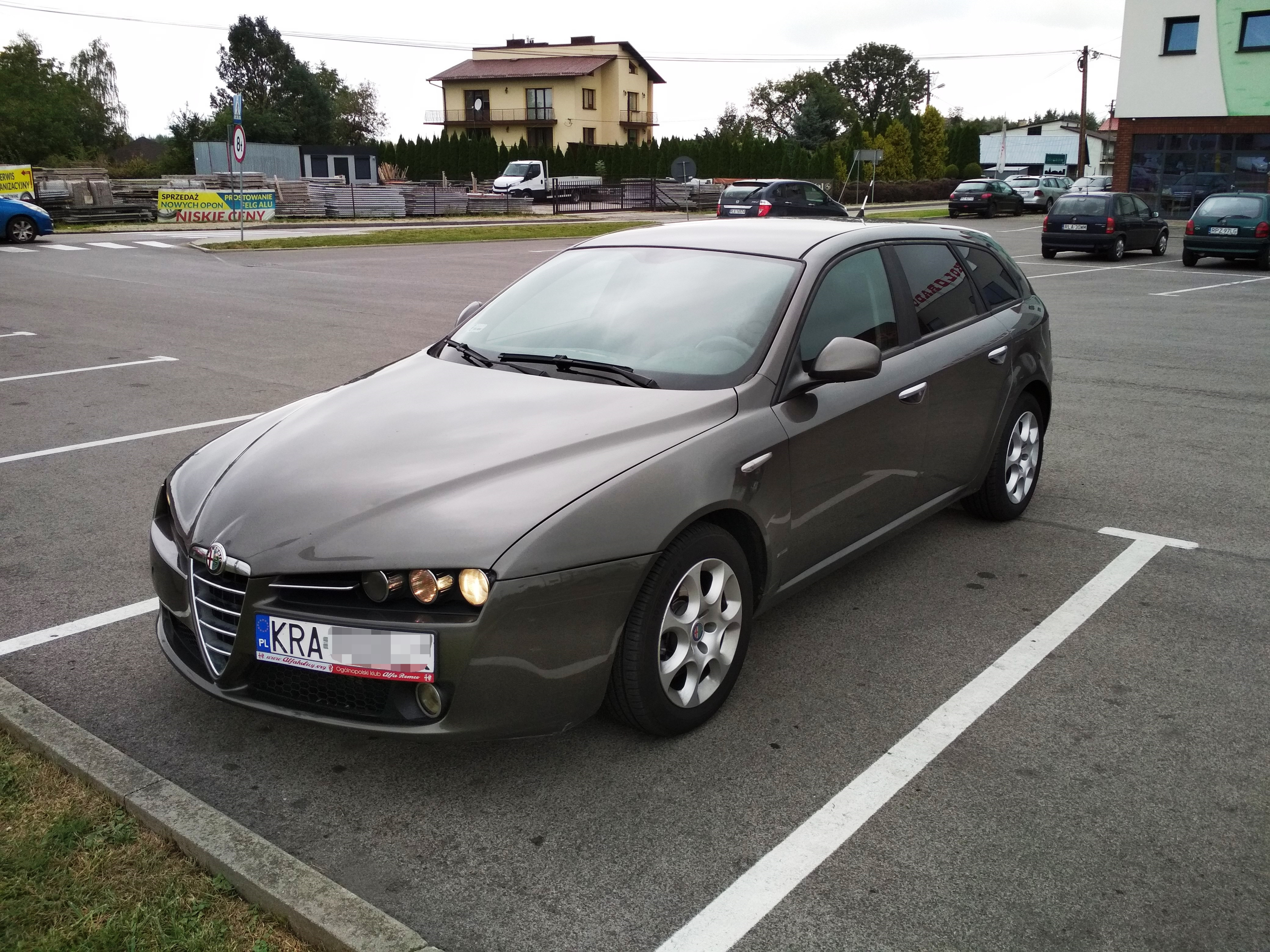 Alfa Romeo 159 1.9 JTDm 8v 120KM >> 158KM 346Nm