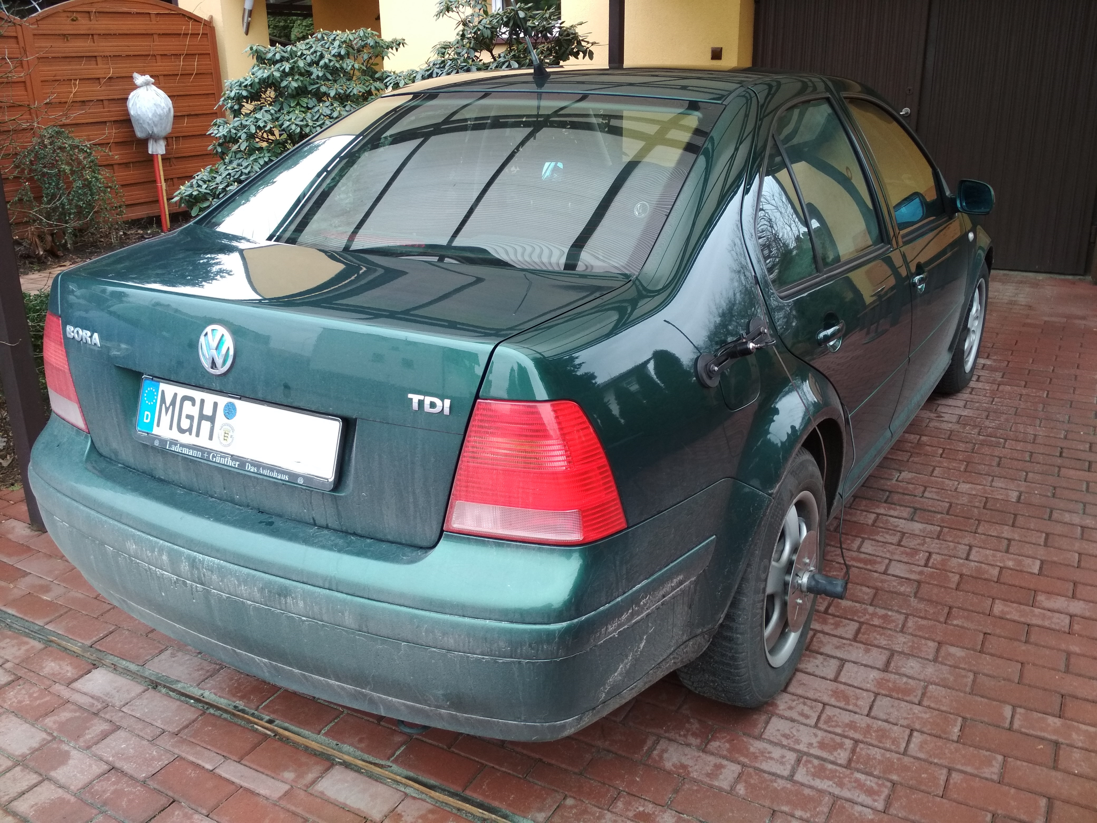 VW Bora 1.9TDI 90KM >> 124KM 268Nm