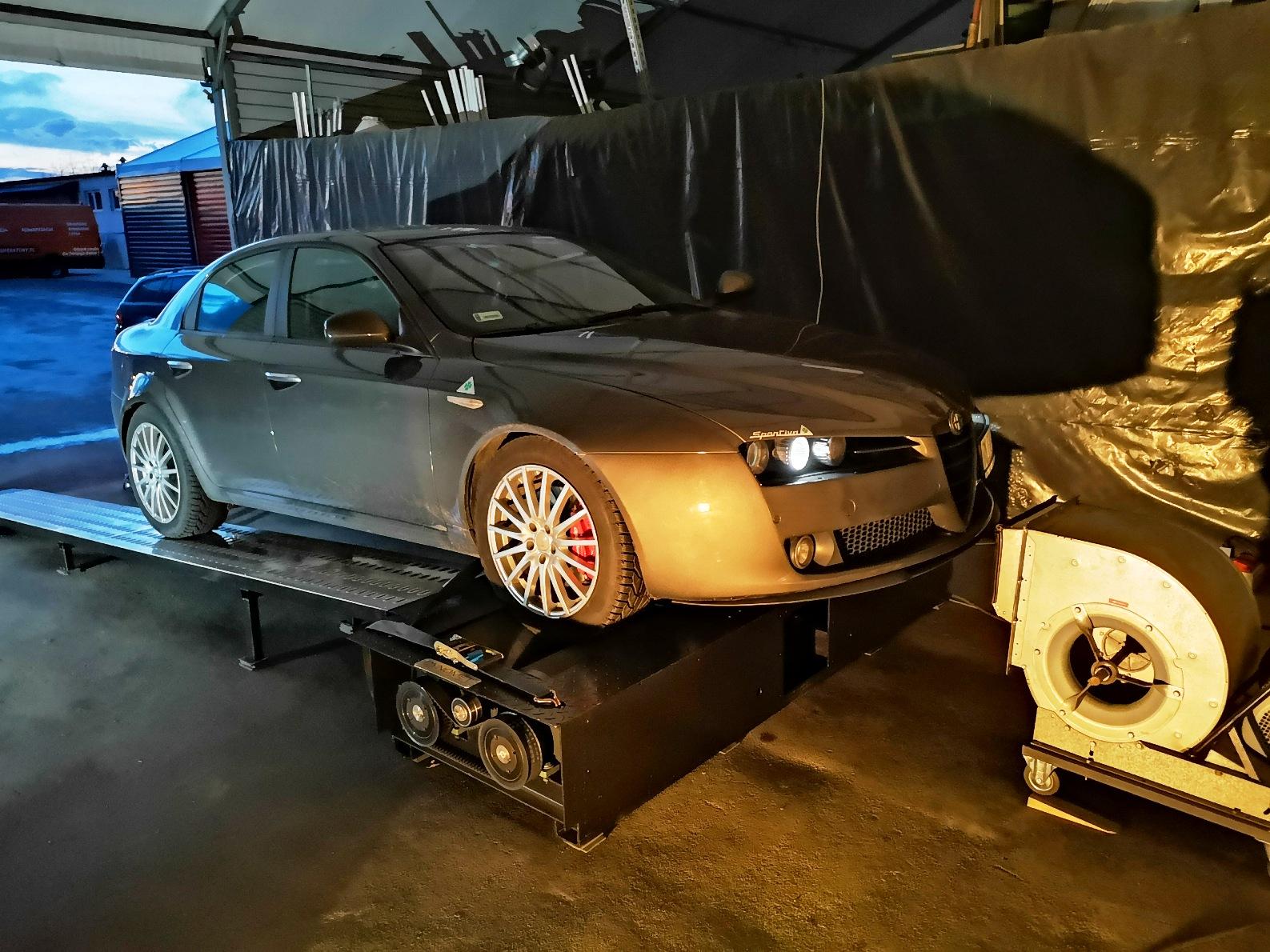 Alfa Romeo 159 2.4jtdm 200KM >> 238KM 538Nm