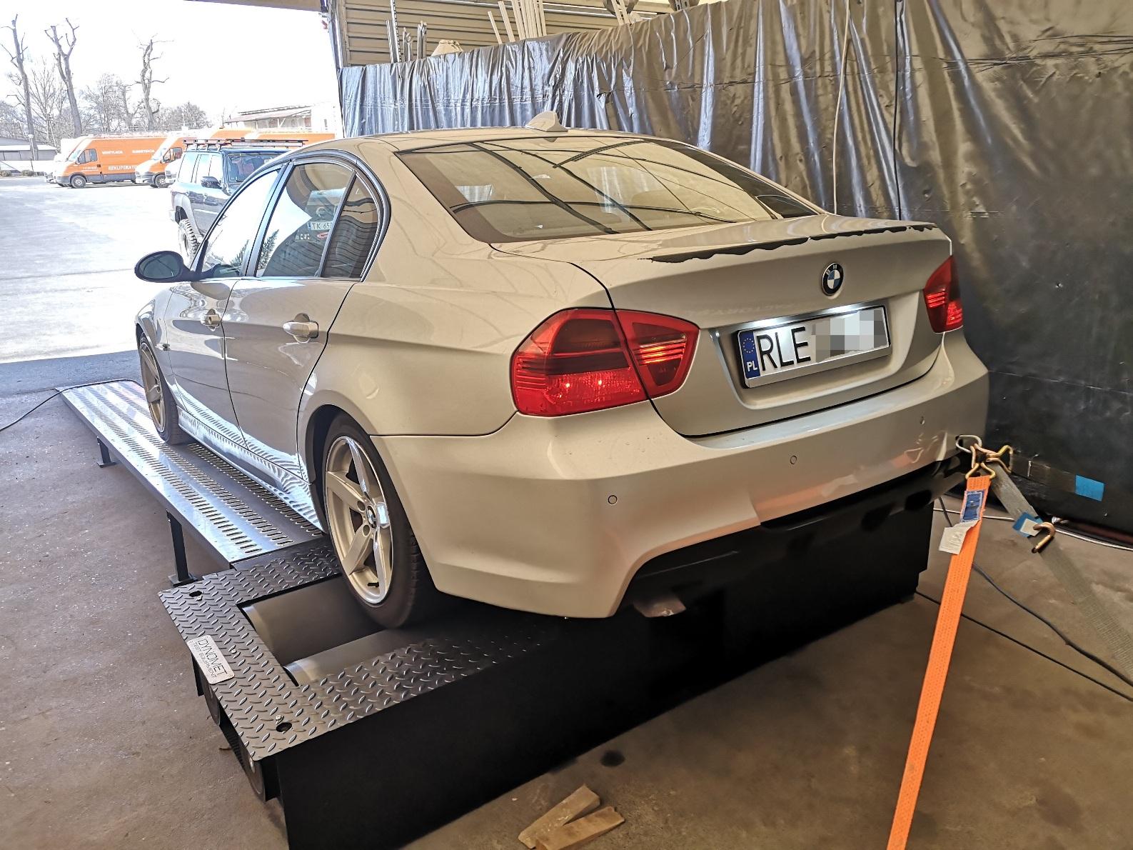 BMW E90 320d 163KM >> 199KM 440Nm