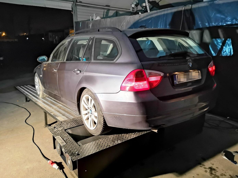 BMW E91 320d 163KM >> 197KM 416Nm