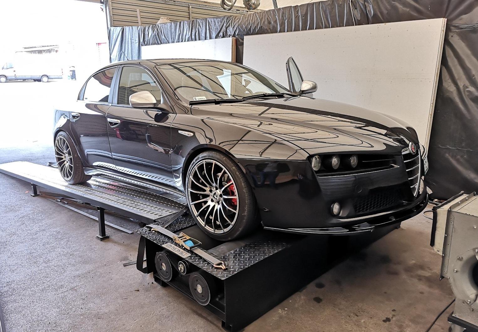 Alfa Romeo 159 1.9JTDm 136KM >> 188KM 399Nm