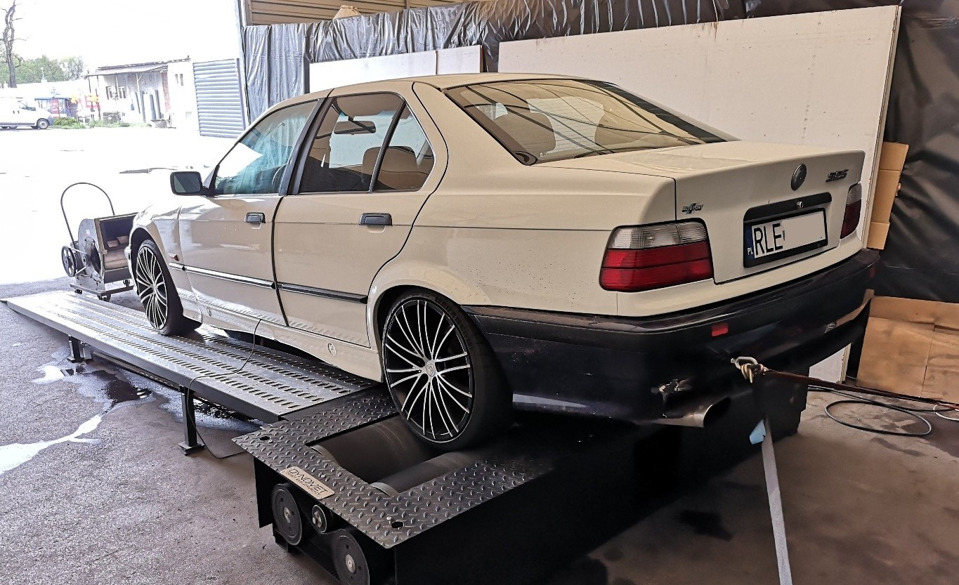 BMW E36 325TDS 143KM >> 185KM 389Nm