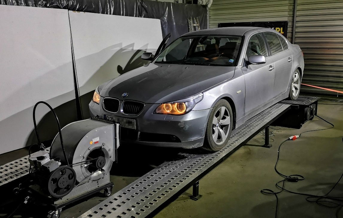 BMW E60 530d 218KM >> 270KM 638Nm