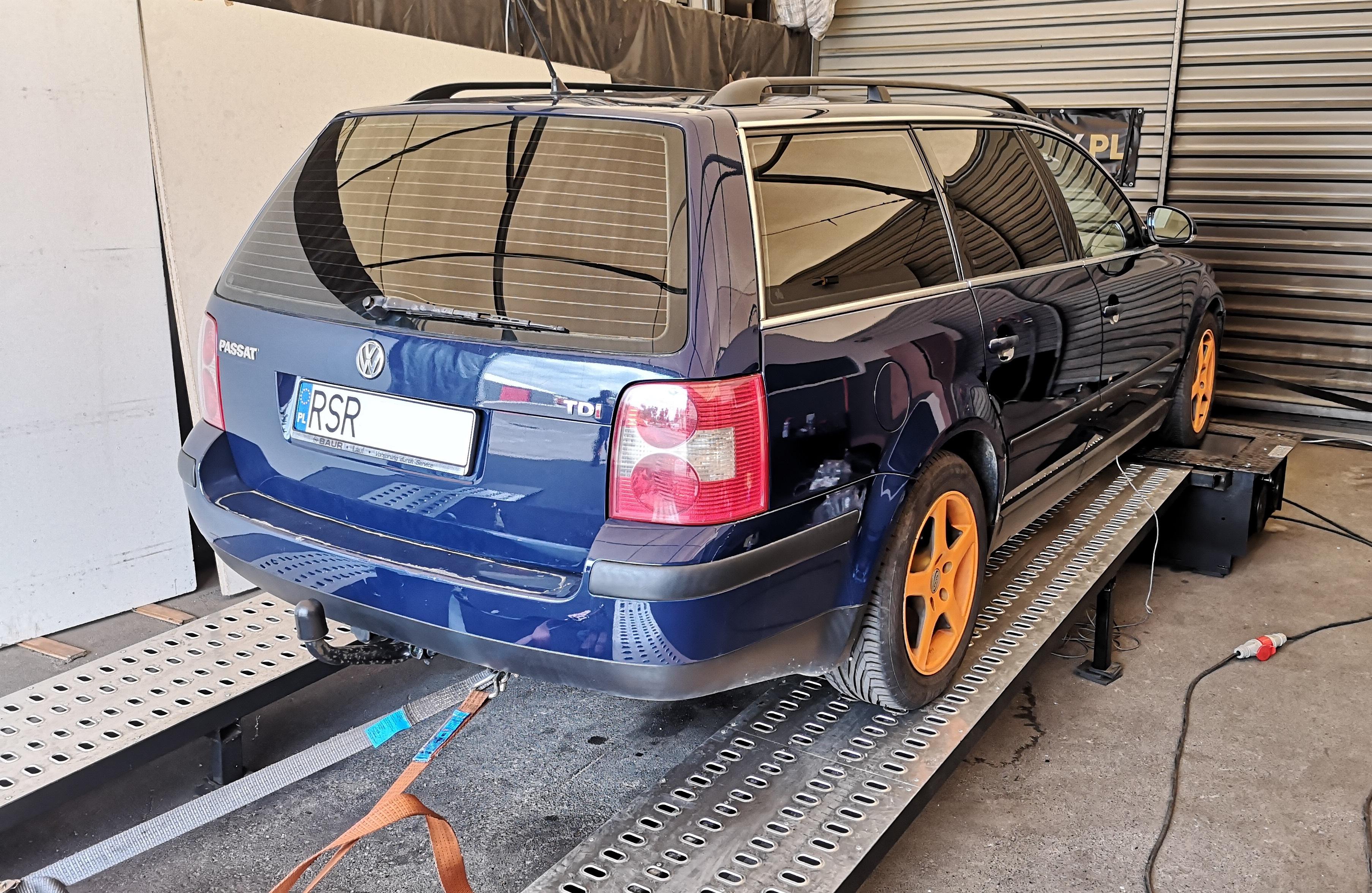 VW Passat B5FL 1.9TDI 101KM >> 137KM