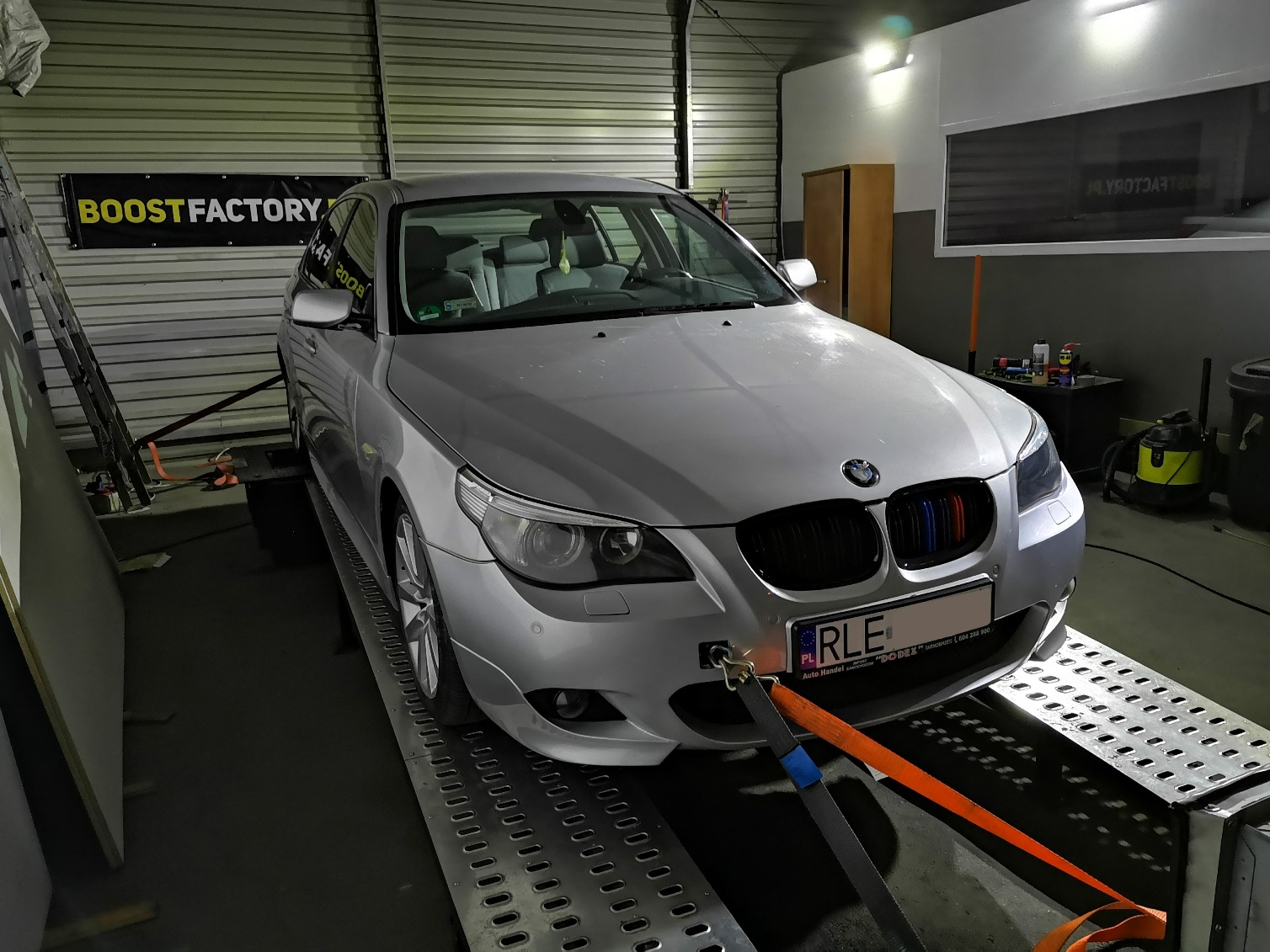 BMW E60 2.5d 177KM >> 232KM 482Nm