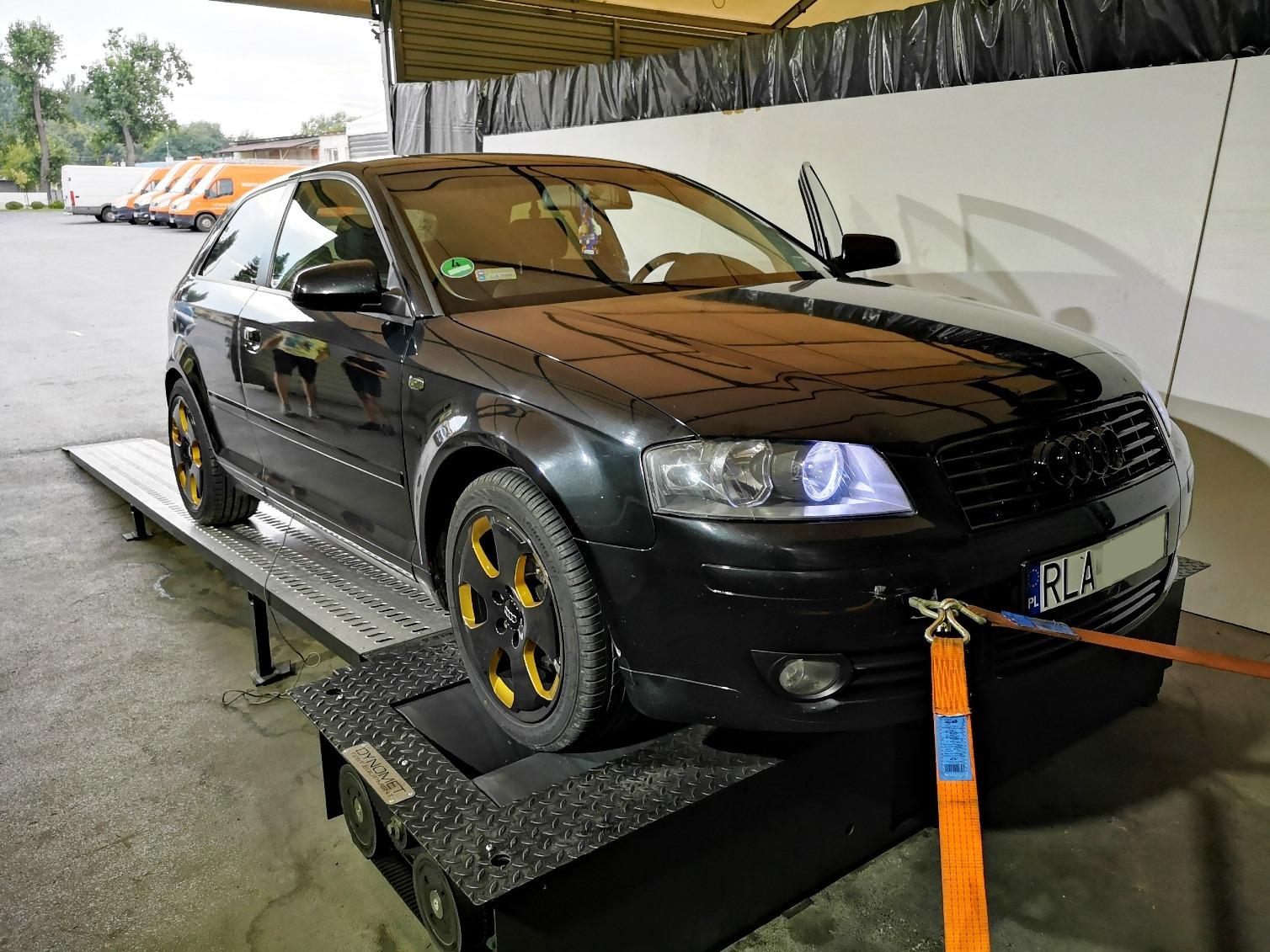 Audi A3 8P 1.9TDI 105KM >> 140KM 342Nm