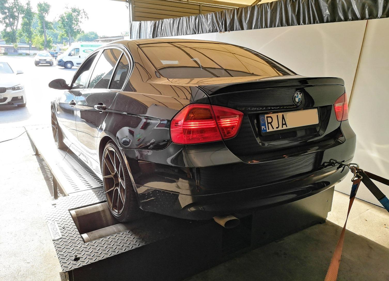 BMW e90 Hamownia