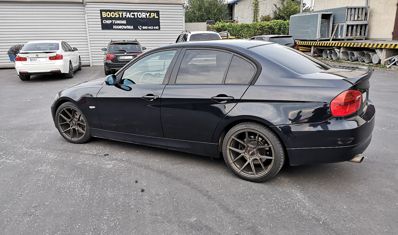 BMW E90 320D 163KM >> 205KM 419Nm