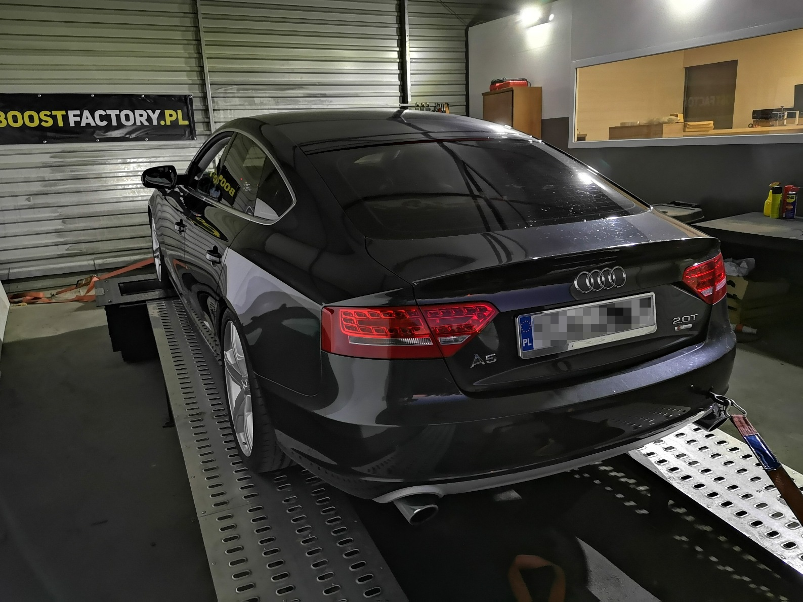 Audi A5 2.0TFSI 180KM >> 258KM 379Nm
