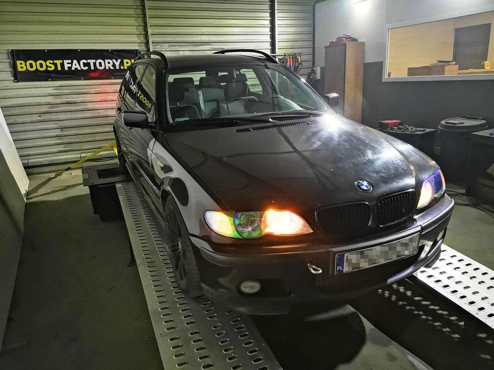 BMW E46 330d 184KM >> 263KM 562Nm
