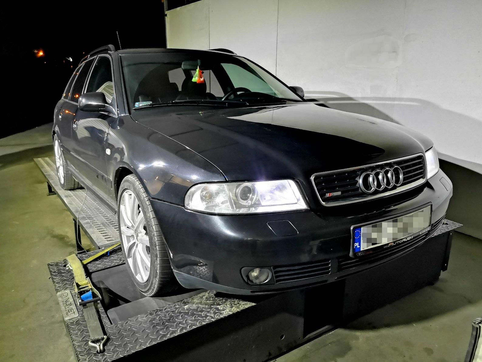 Audi A4 1.9TDI 131KM >> 181KM 386Nm