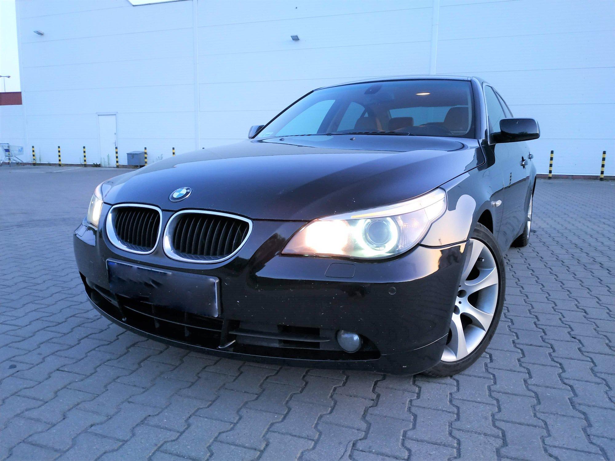 BMW E60 530D 3.0D 218KM >>283KM 654Nm
