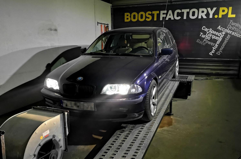 BMW E46 330d 184KM >> 266KM 568Nm
