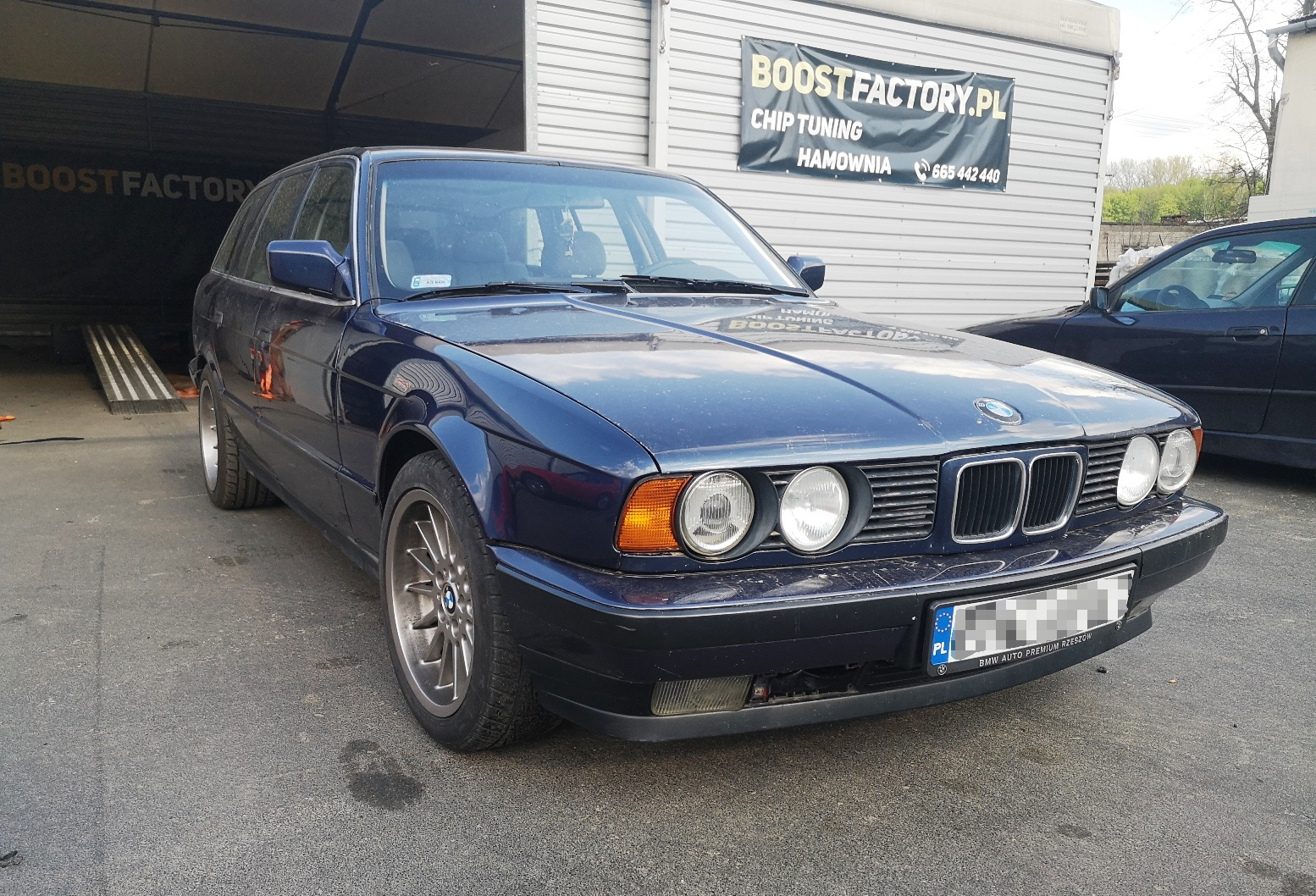 BMW E34 525i M50B29NV Turbo >> 452KM 609Nm