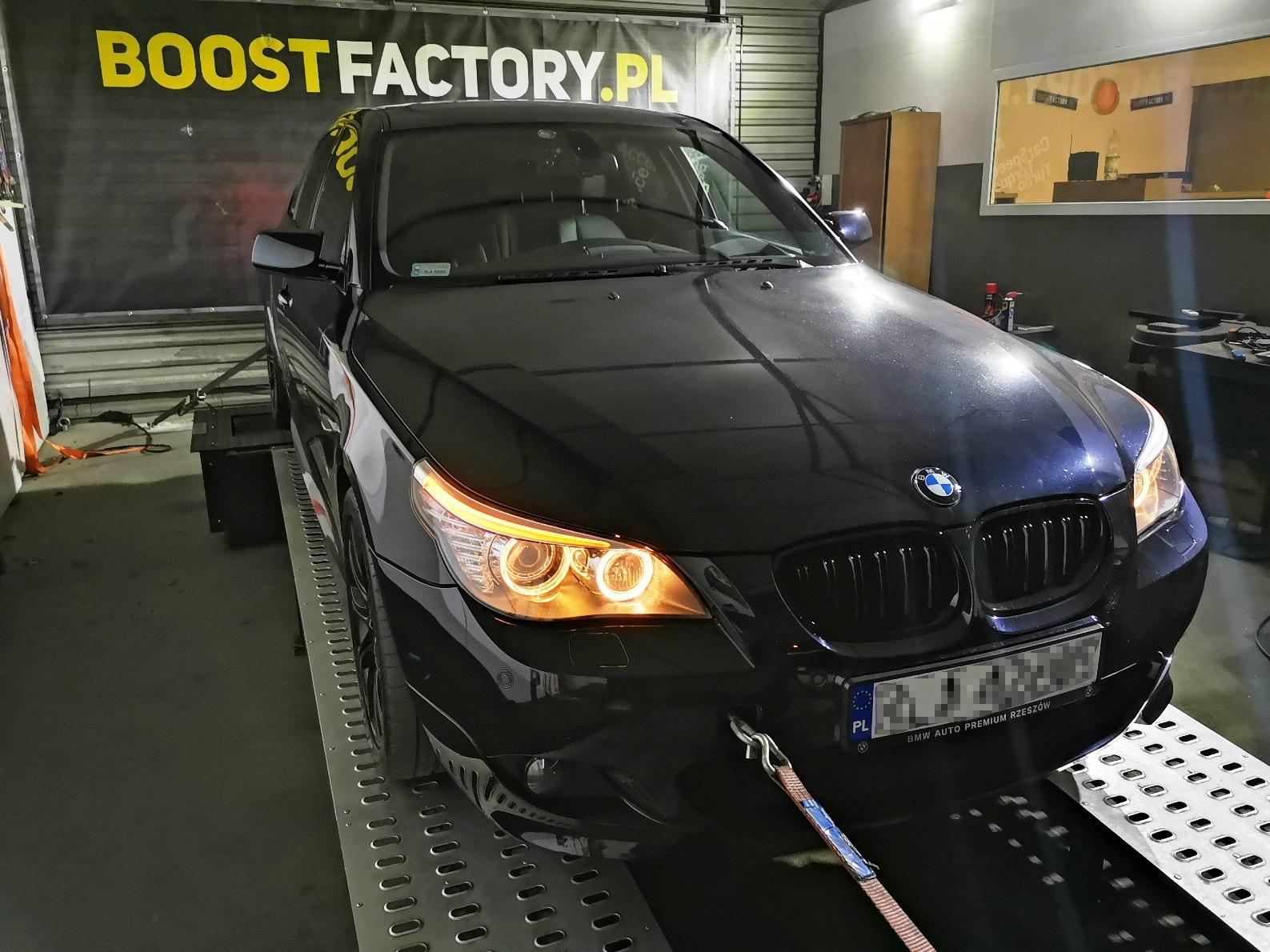 BMW E60 530D 235KM >> 285KM 636Nm