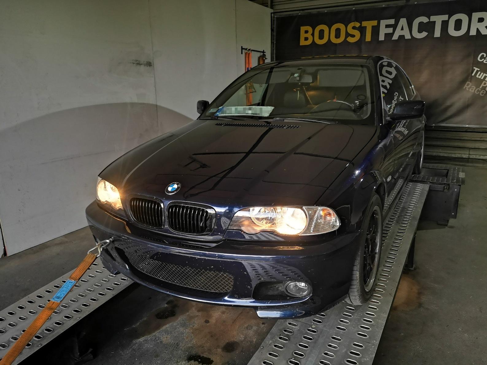 BMW E36 328CI 192KM >> 218KM 282Nm