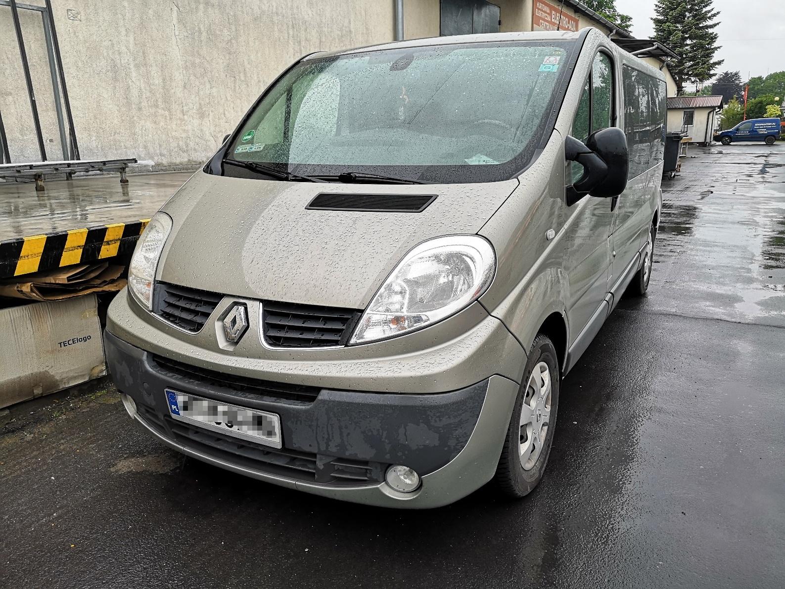 Renault Trafic II 2.0dCi 115KM >> 144KM 357Nm
