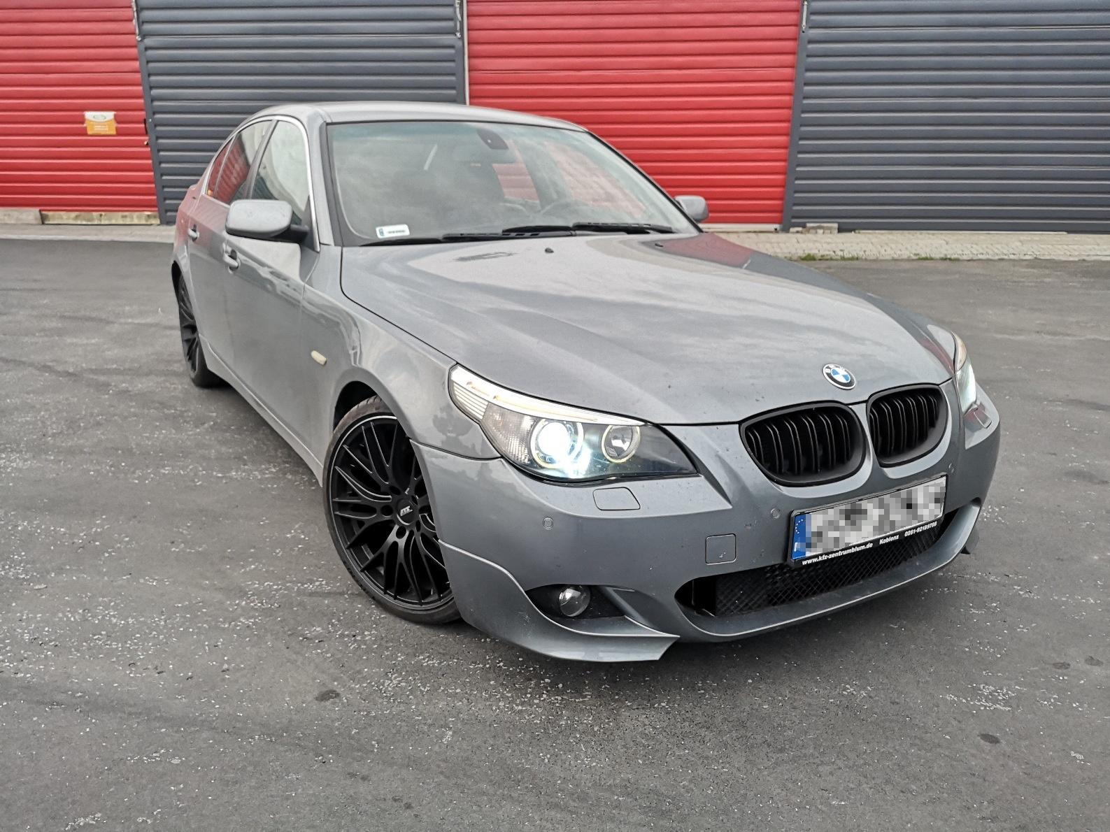 BMW E60 530D 218KM >> 380KM 781Nm