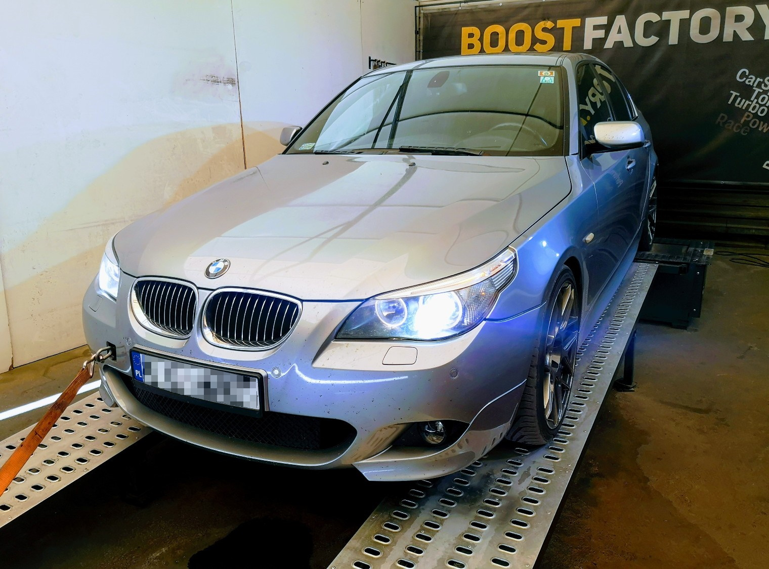 BMW E60 530D 231KM >> 305KM 672Nm