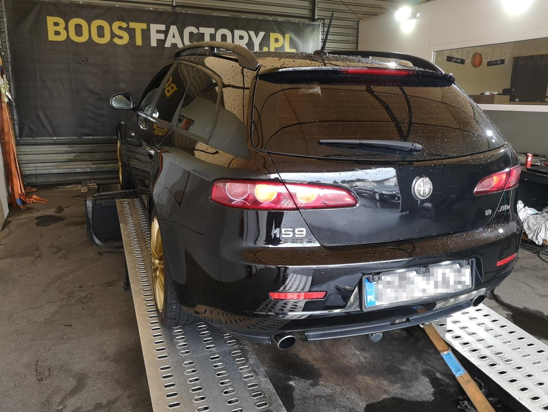 Alfa Romeo 159 1.9JTDm 150KM >> 184KM410Nm
