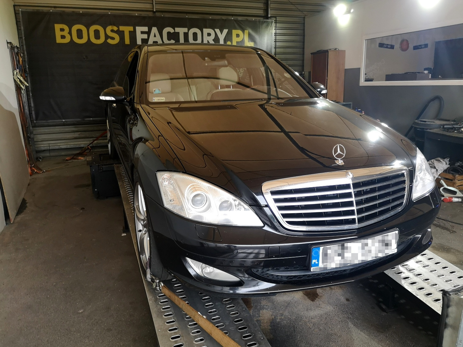 Mercedes S W221 235KM >> 268KM 630Nm