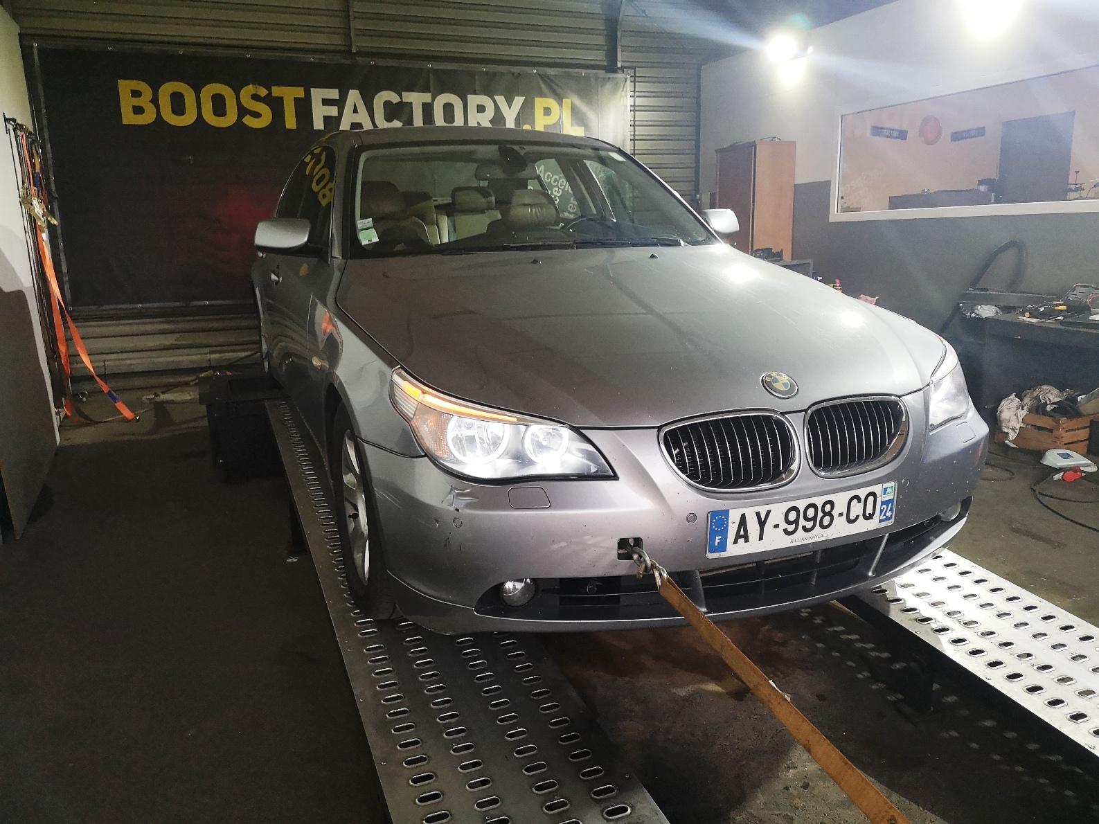 BMW E60 530D 231KM >> 287KM 631Nm