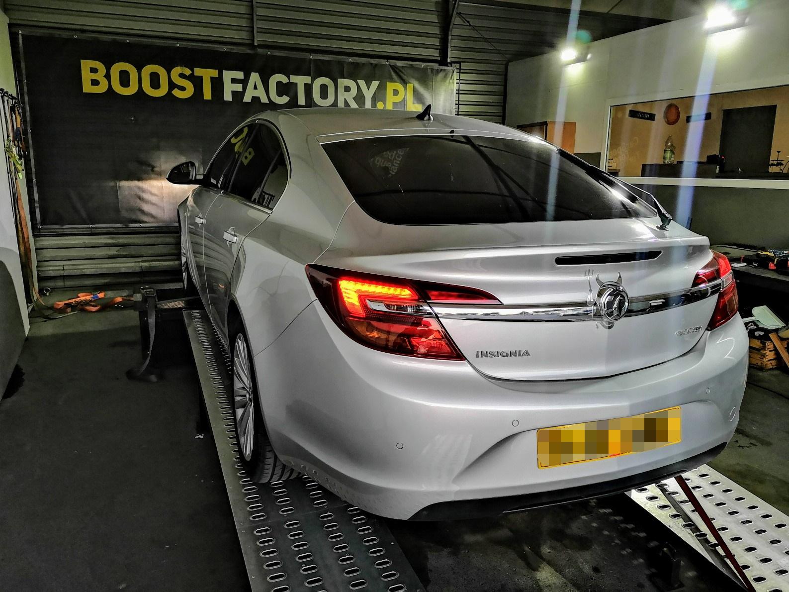 Opel Insignia 2.0 CDTi 140KM >> 194KM 419Nm
