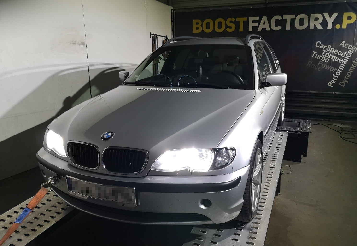 BMW E46 330D Euro3 204KM >> 281KM 596Nm