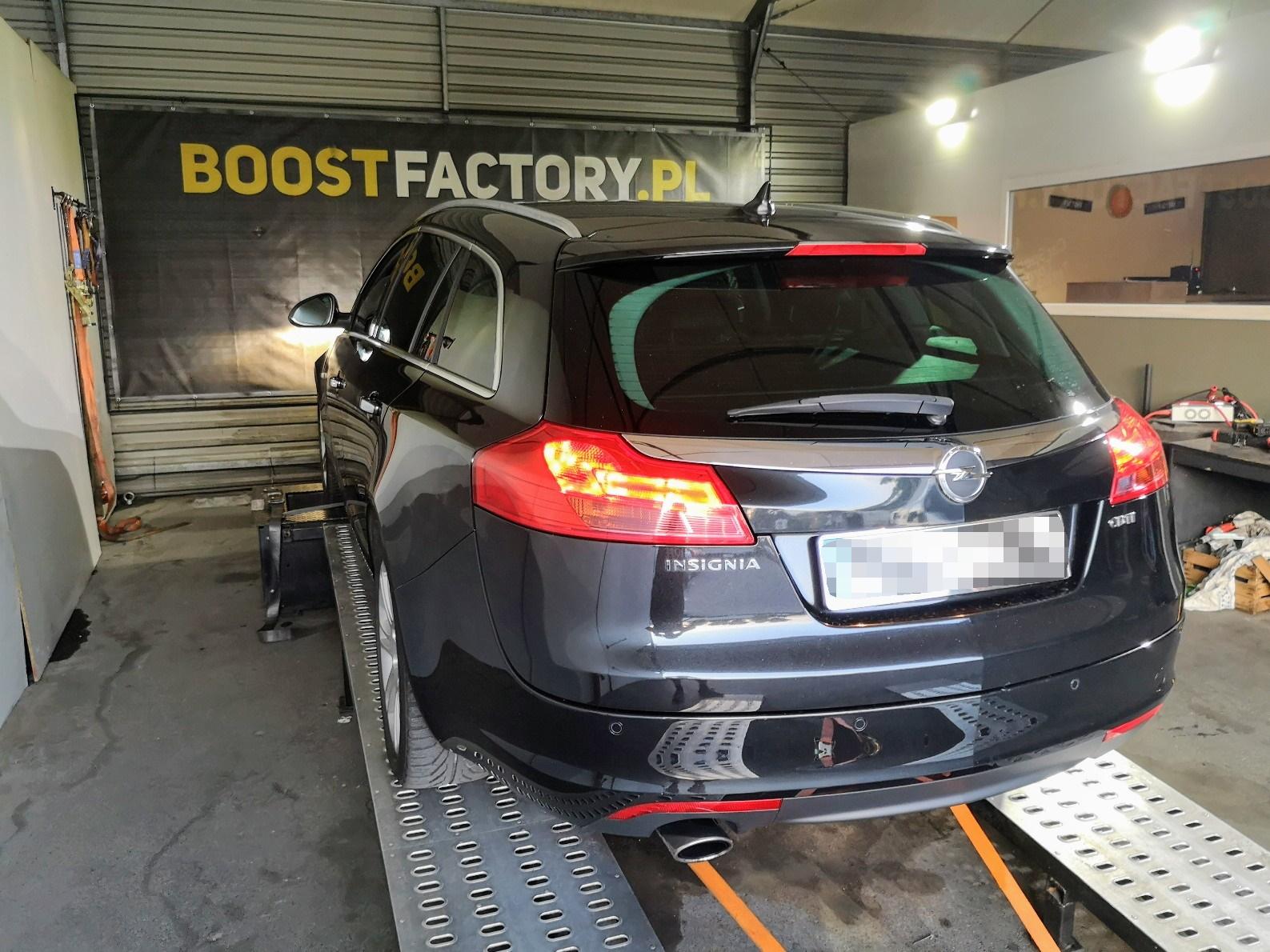 Opel Insignia 2.0 CDTi 160KM >> 196KM 417Nm