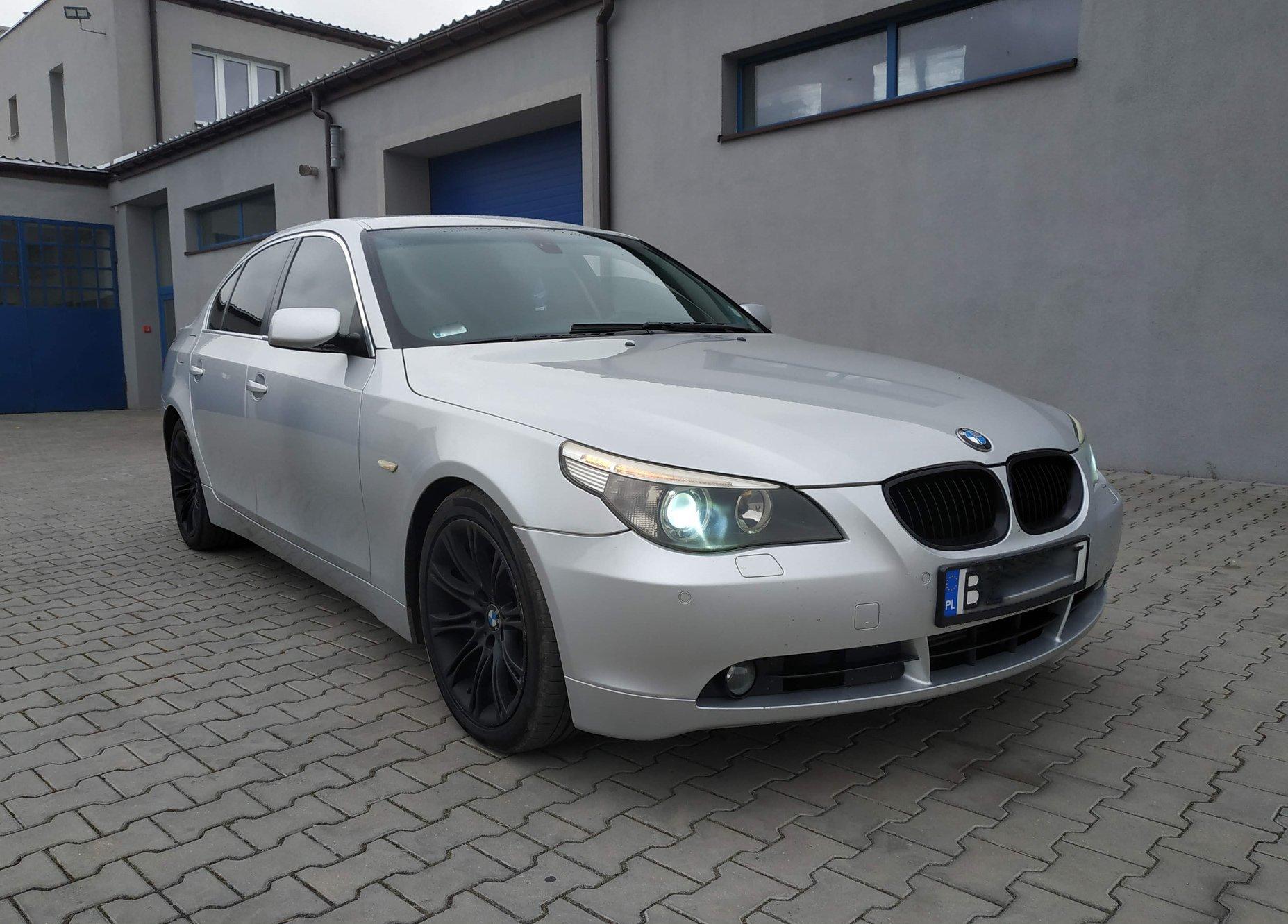 BMW E60 525D 177KM >> 230KM 557Nm