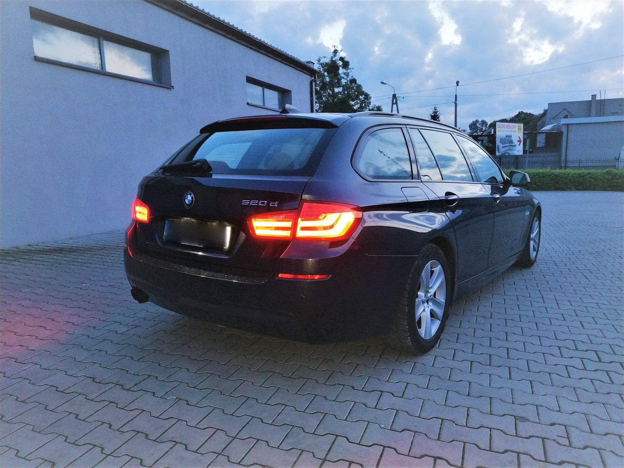 BMW F11 520D N47N 184KM >> 219KM 460Nm