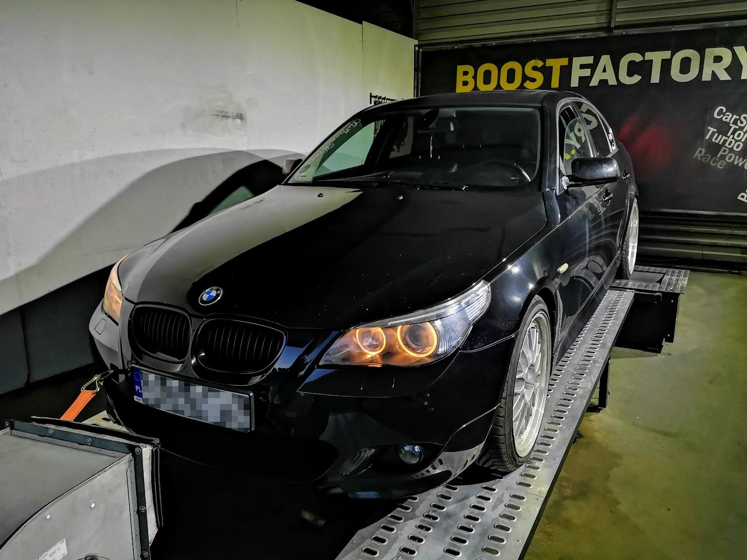BMW E60 530D 218KM >> 286KM 610Nm