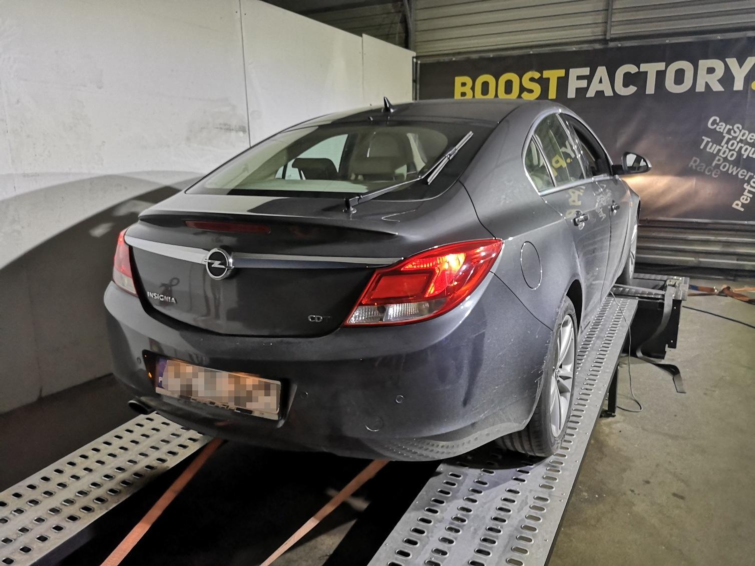 Opel Insignia 2.0 CDTi 160KM >> 197KM 433Nm