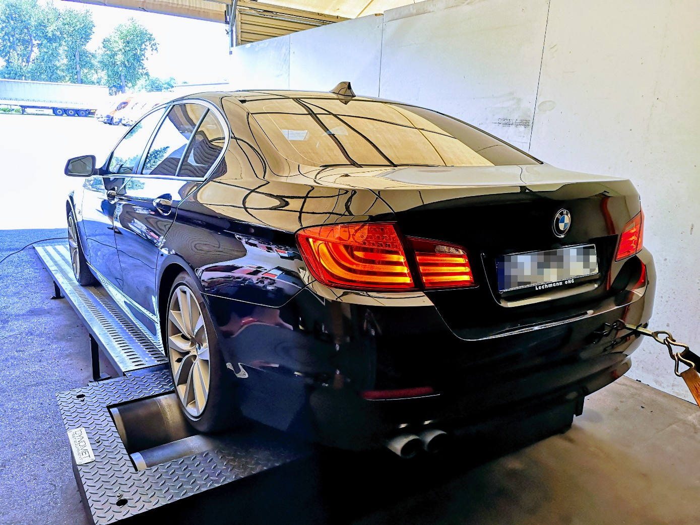 BMW F10 525D 204KM >> 314KM 643Nm