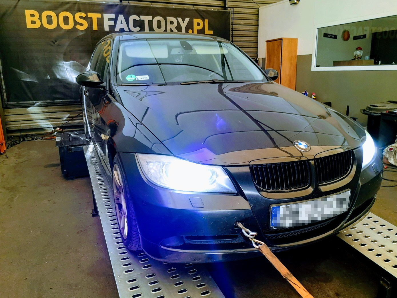 BMW E91 320D N47 163KM >> 233KM 487Nm