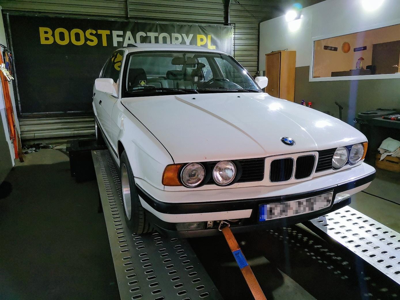 BMW E34 520i 129KM >> 141KM 178Nm