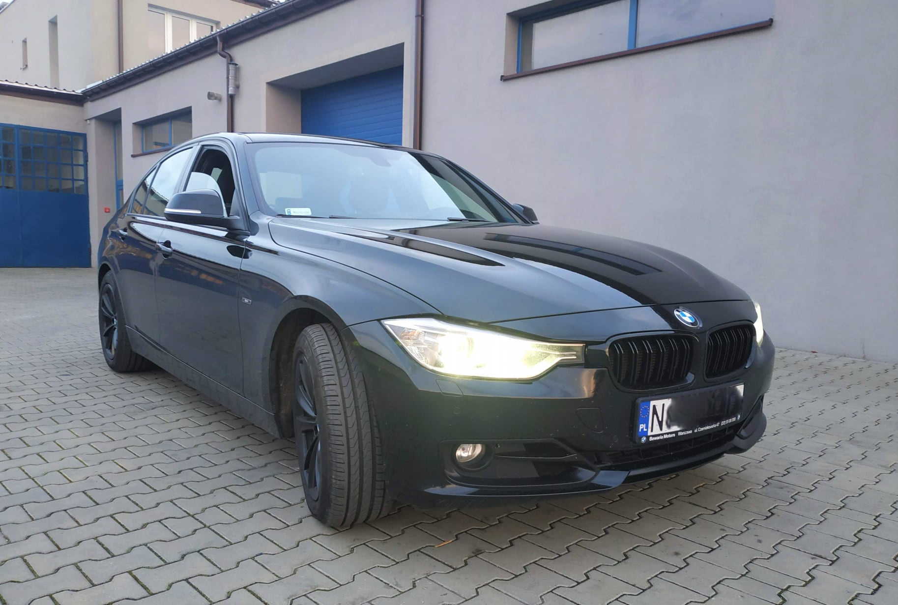 BMW F30 328i 245KM >> 285KM 434Nm