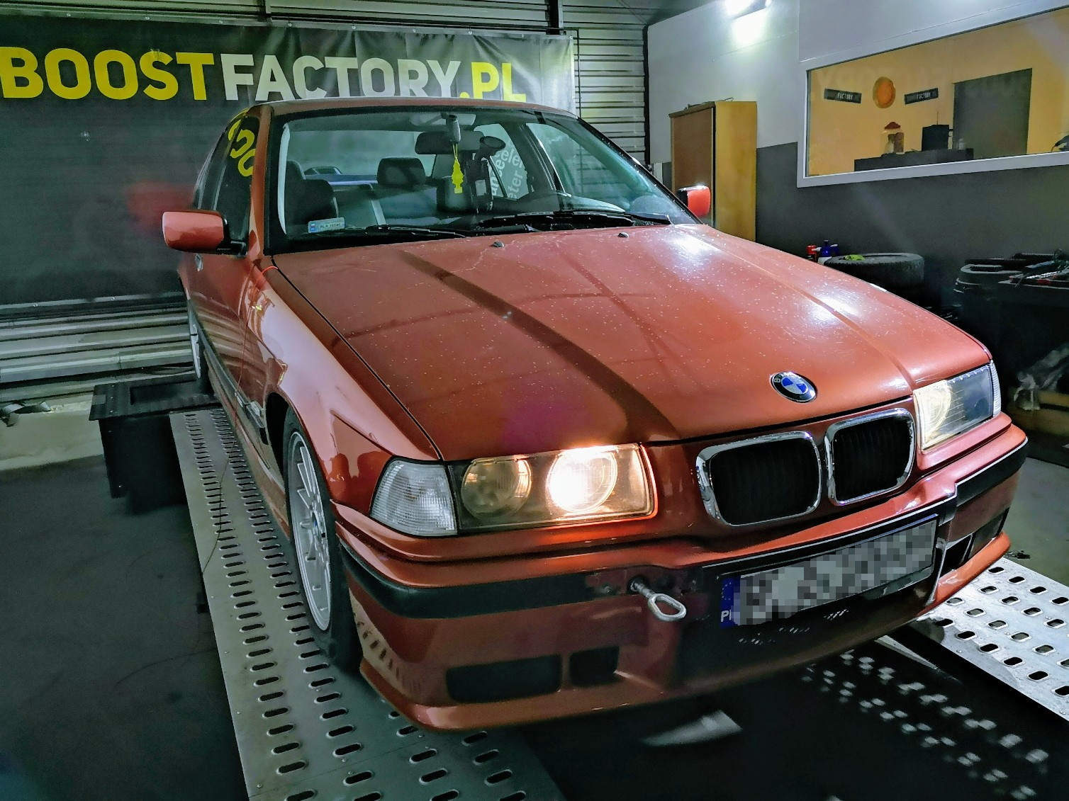 BMW E36 320i M52B20 150KM >> 163KM 207Nm