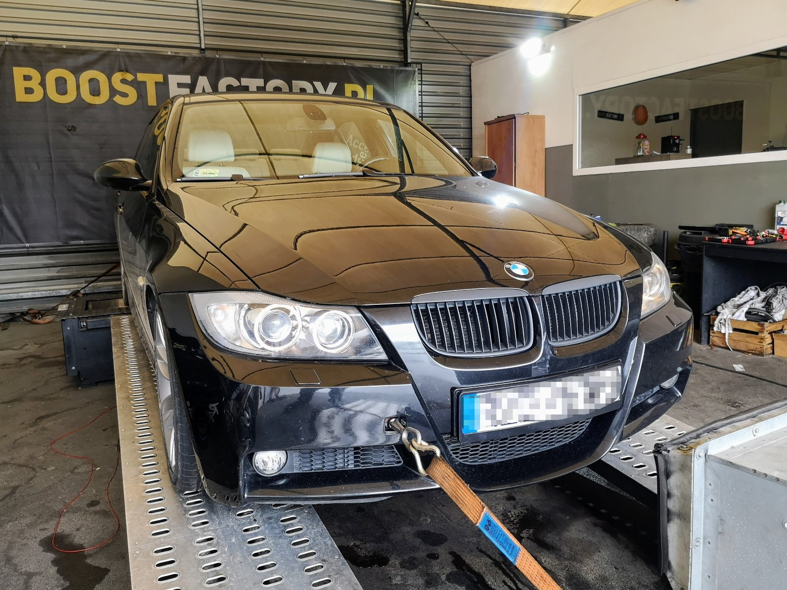 BMW E90 320D 163KM >> 208KM 427Nm