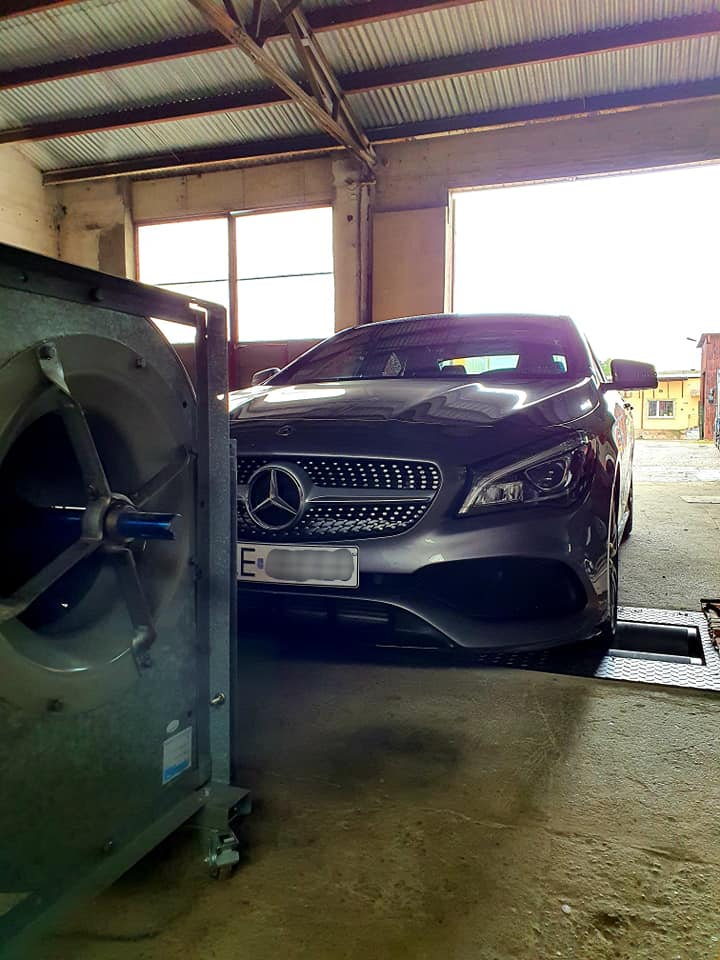Mercedes CLA 250 211KM >> 241KM 370Nm