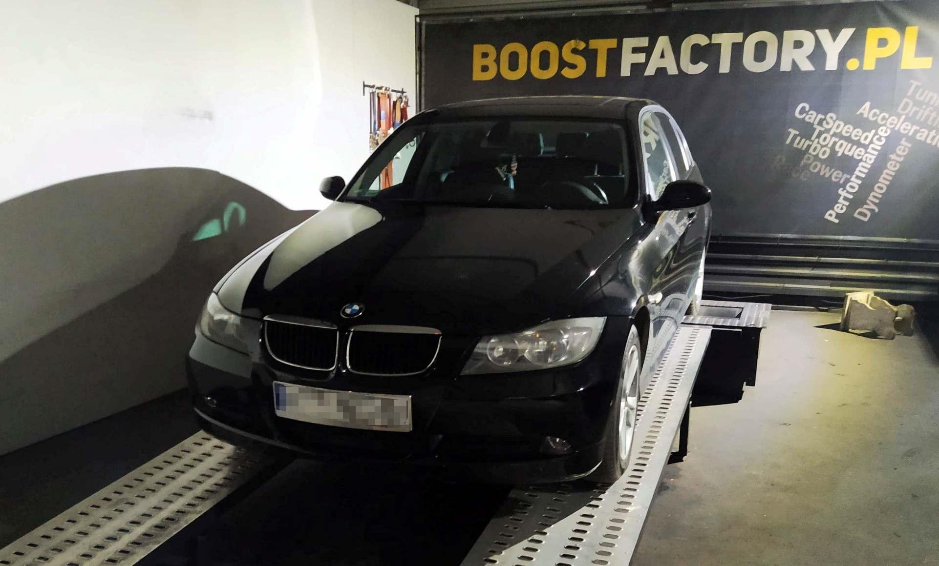BMW E90 318D 122KM >> 177KM 369Nm