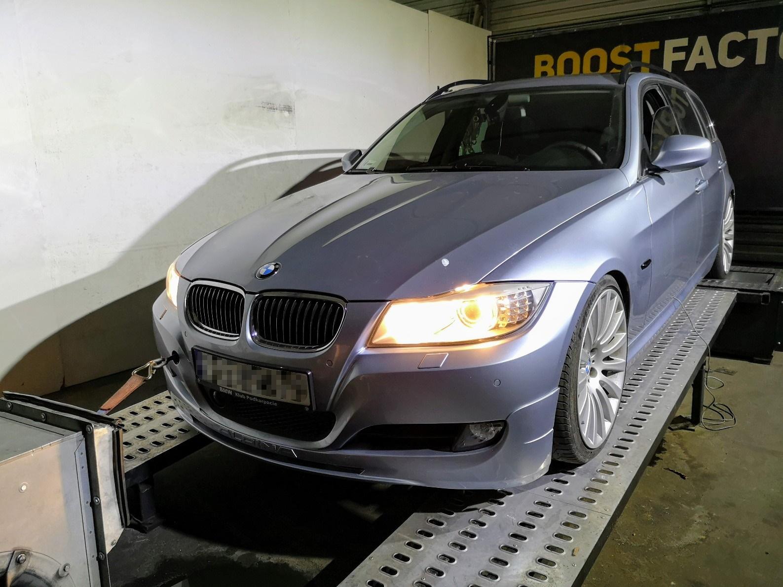 BMW E91 325D 197KM >> 255KM 524Nm