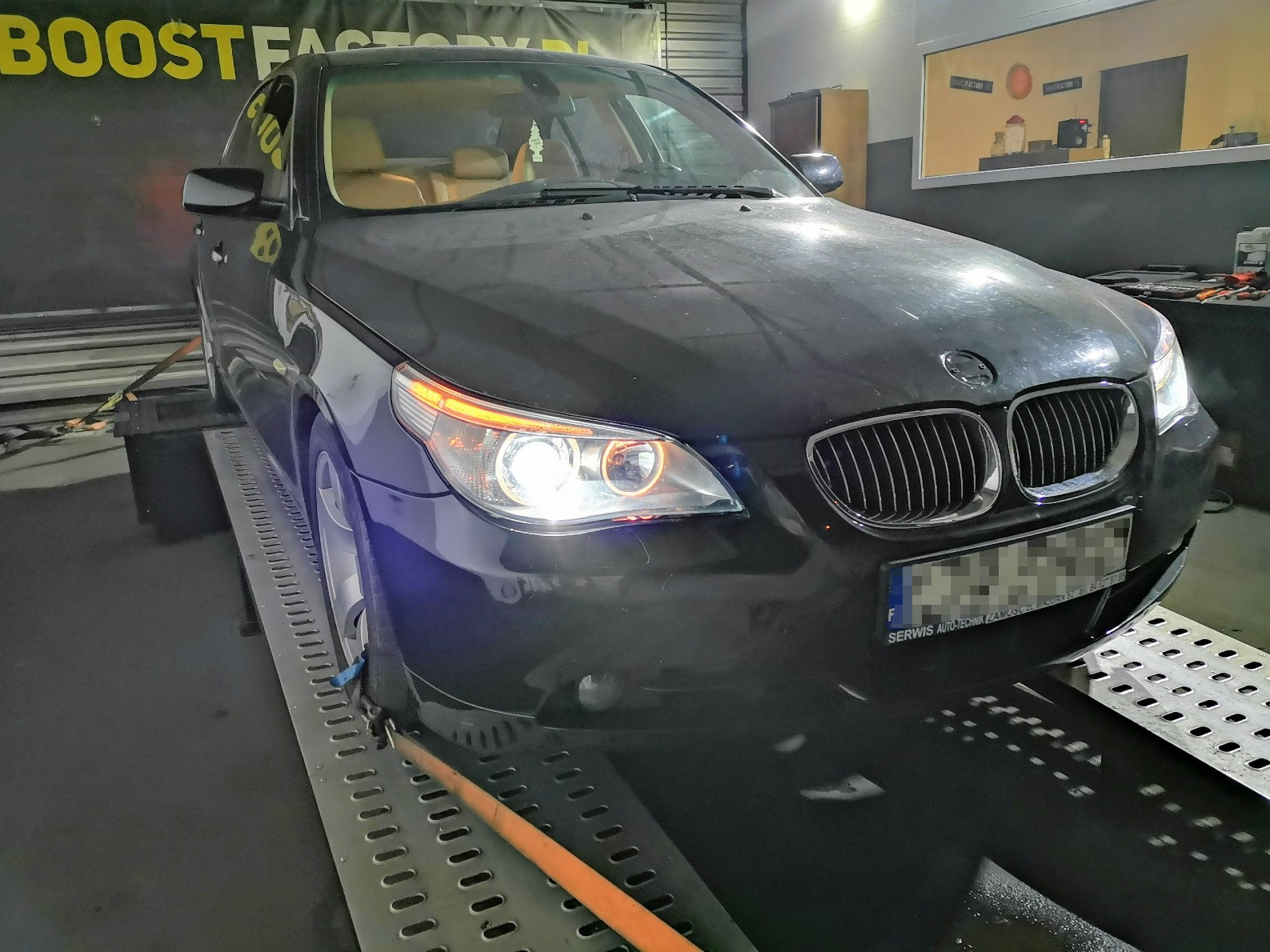 BMW E60 535D 272KM >> 342KM 683Nm