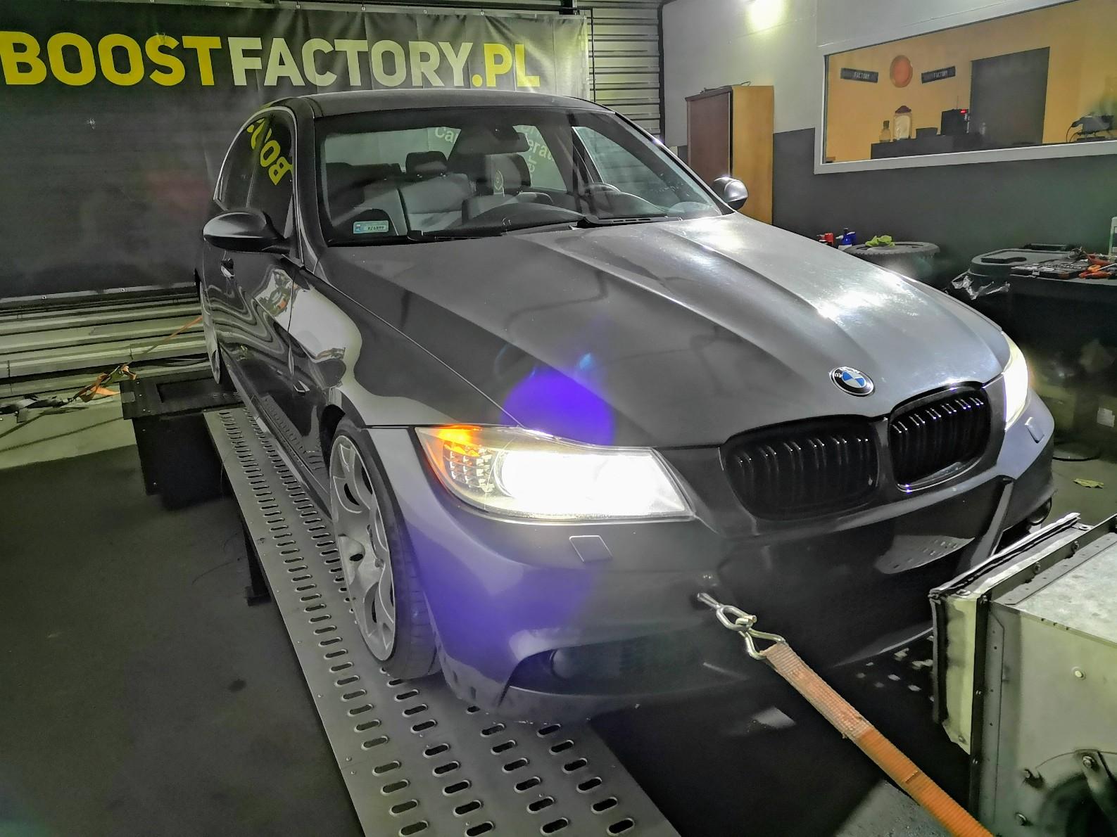 BMW E90 330D 231KM >> 291KM 611Nm