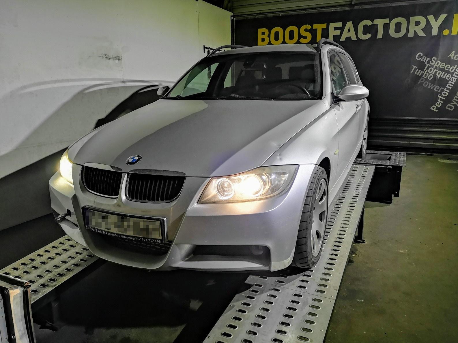 BMW E91 325D 197KM >> 367KM 756Nm