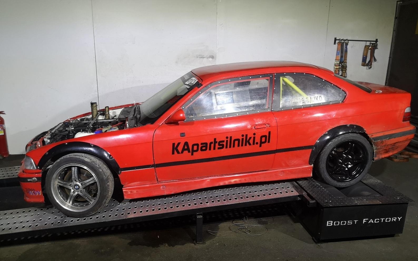 BMW E36 328i M52B28V Turbo >> 427KM 545Nm