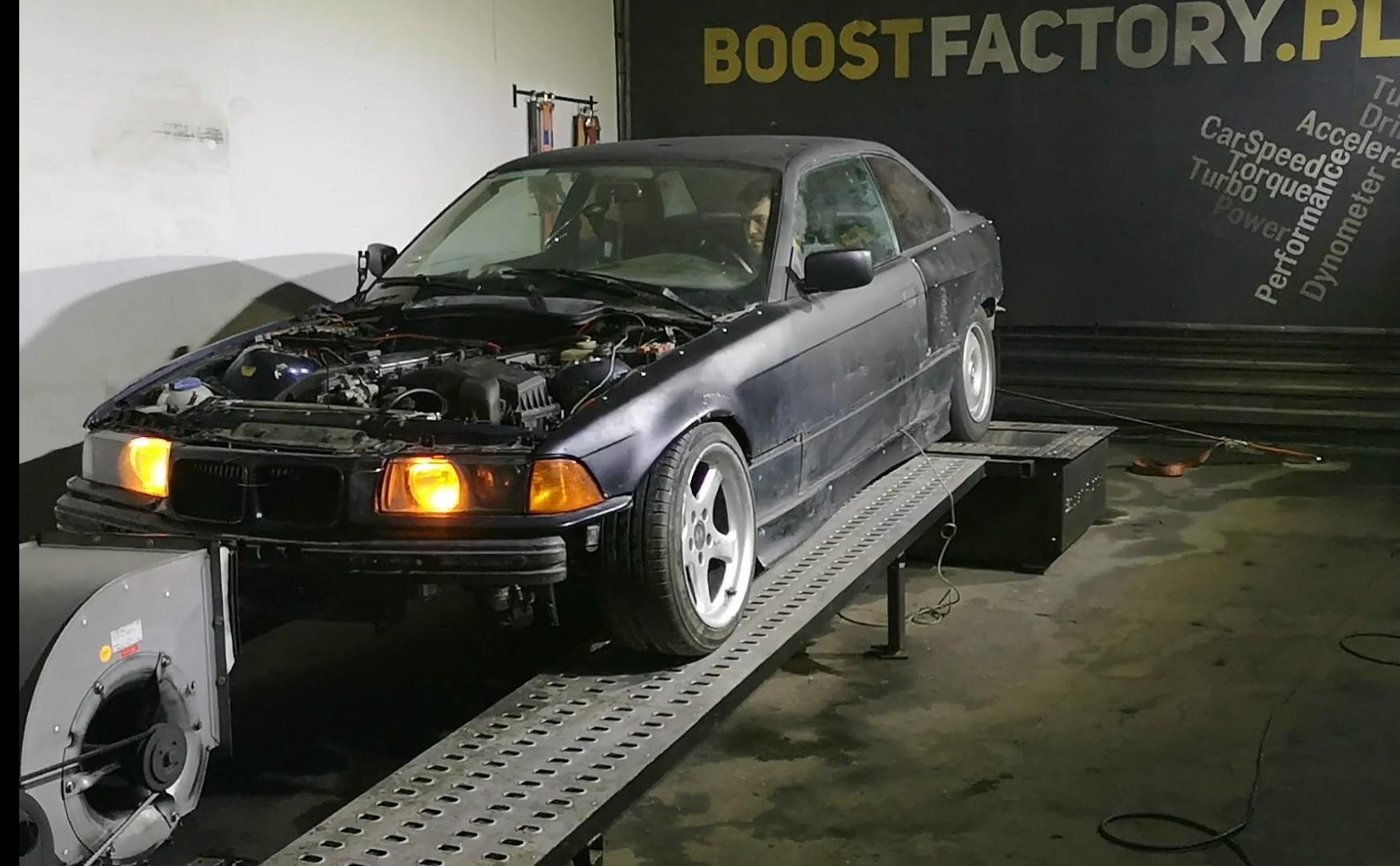 BMW E36 M54B22 320i 170KM >> 182KM 210Nm